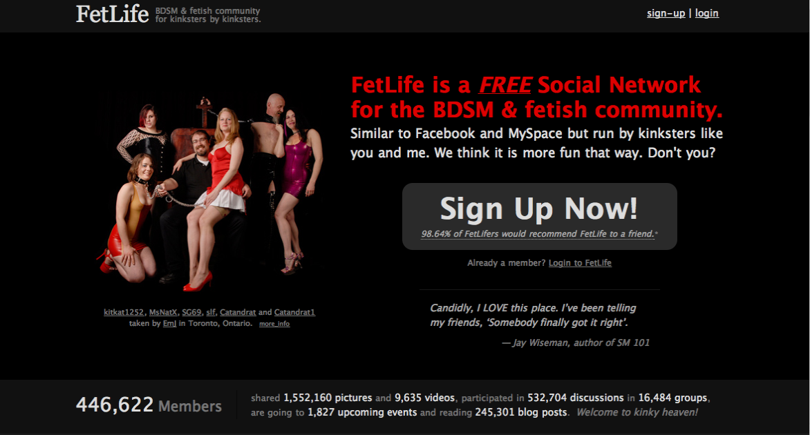 Fetlife advanced search