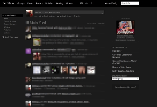 FetLife Feed, version 4
